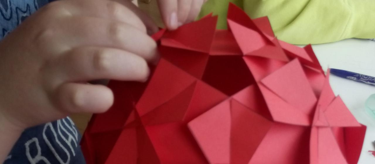 Una flor? Geometria!